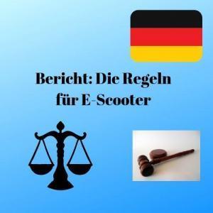 Bericht Die Regeln für E-Scooter